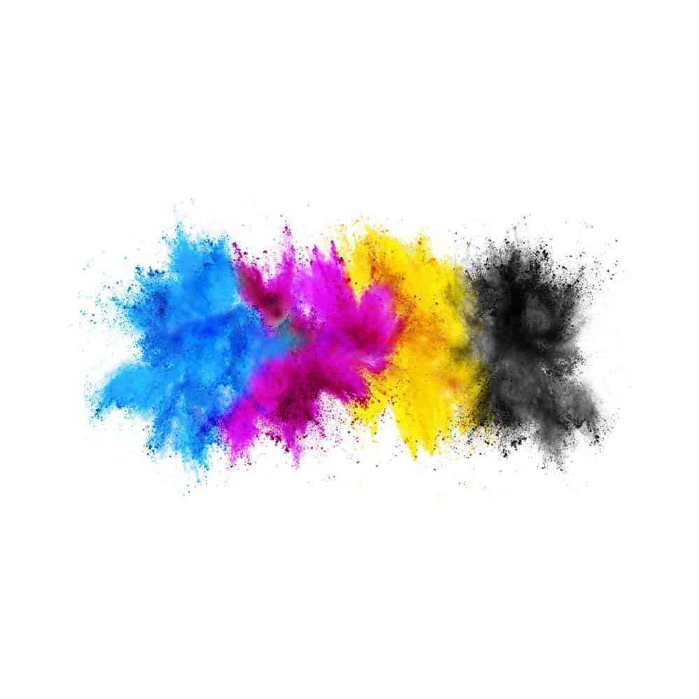 print media colour explosion